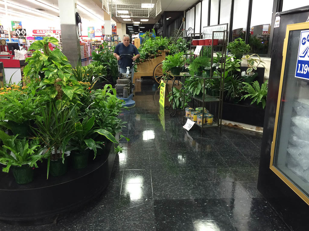 Beautiful Floors in a grocery store
