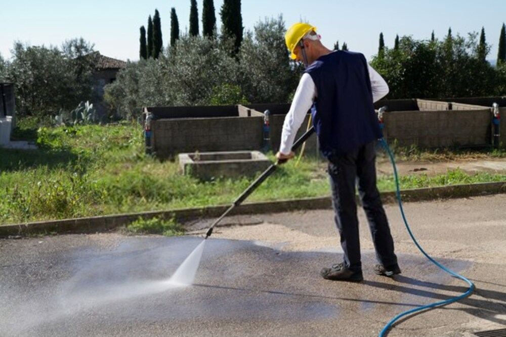 A power washer is designed to effectively remove stubborn dirt on most surfaces
